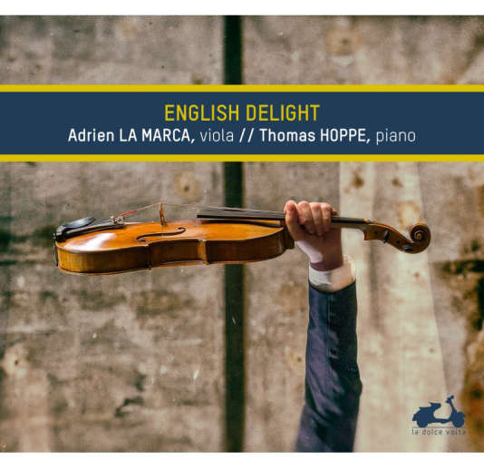 Pochette de « English Delight », d'Adrien La Marca et Thomas Hoppe.