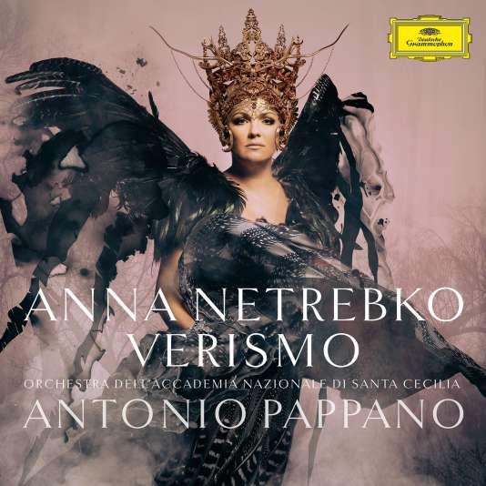 Pochette de« Verismo», d'Anna Netrebko et Antonio Pappano.