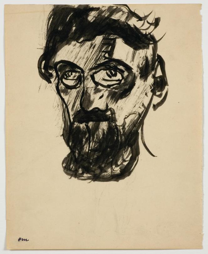 Autoportrait d'Henri Matisse en1900, collection particulière, New York.