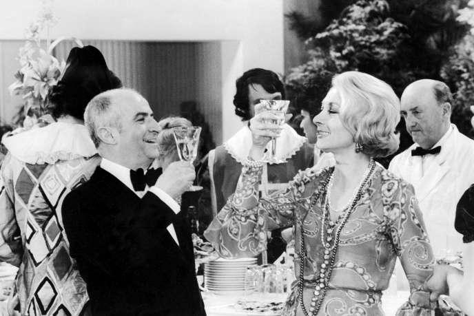 Extrait de «Jo»(1971). L'actrice Claude Gensac, qui a tourné plus d'une centaine de films, est décédéeà 89ans dans son sommeil dans la nuit de lundi à mardi. Elle fut plus de dix fois l'épouse de Louis de Funès au cinéma dans la série des «Gendarmes».