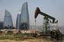 Un puit de pétrole en Azerbaïdjan, le 19 juin 2015.