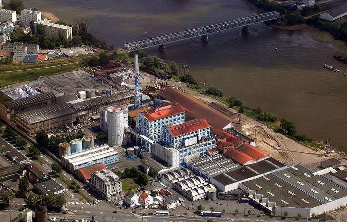 La raffinerie Tereos à Nantes.