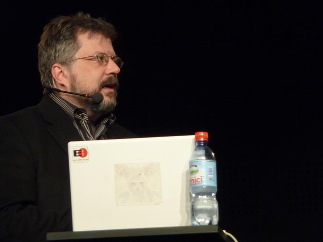Le juriste Kurt Opsahl, de l'association de défense des libertés numériques Electronic Frontier Foundation, en2011.