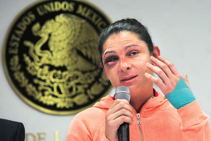 Ana Gabriela Guevara, le 13 décembre à Mexico City.
