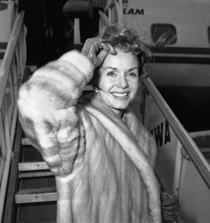 Debbie Reynolds à New York en Mars 1959.