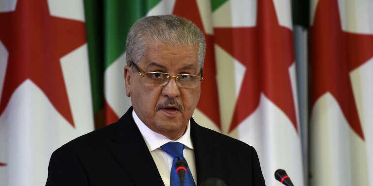 Le premier ministre algérien Abdelmalek Sellal, à Alger le 7 février 2016.