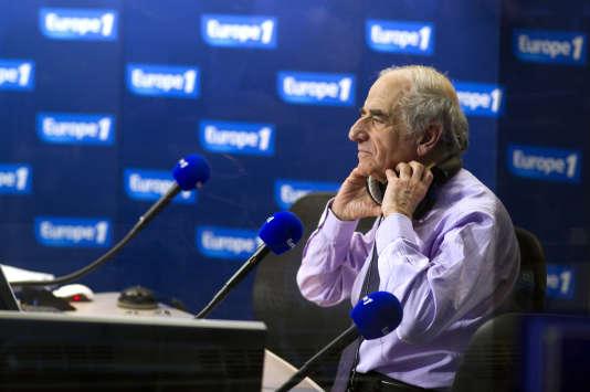 Le journaliste Jean-Pierre Elkabbach, en mars 2012.