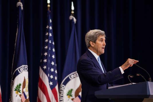 John Kerry le 28 décembre à Washington.