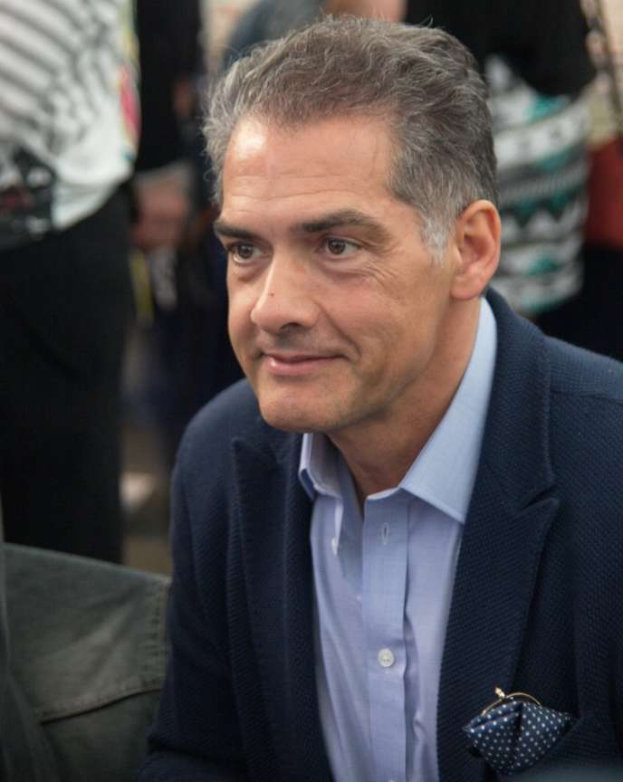 Philip Kerr à la Journée du livre de Barcelone, en 2015.