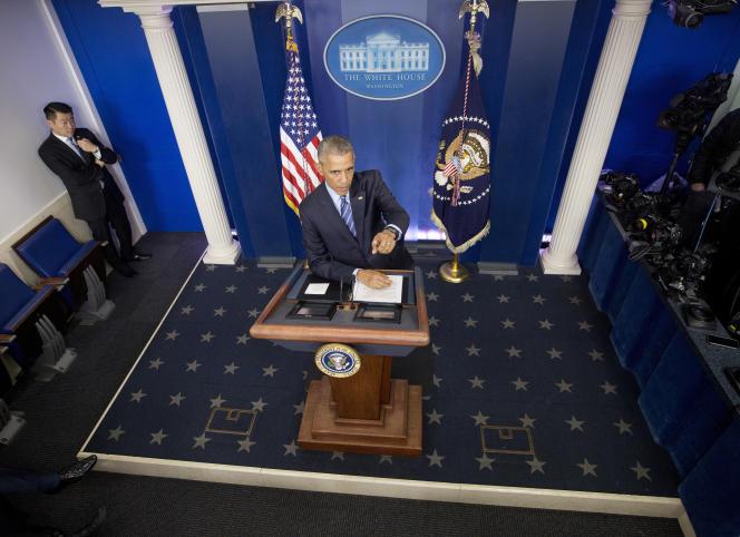 Barack Obama, à Washington, le 16 décembre.