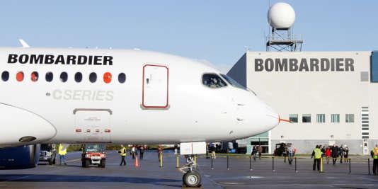Les appareils de la famille des CSseries doit permettre à Bombardier de concurrencer Airbus et Boeing mais les commandes sont jusqu'ici décevantes.