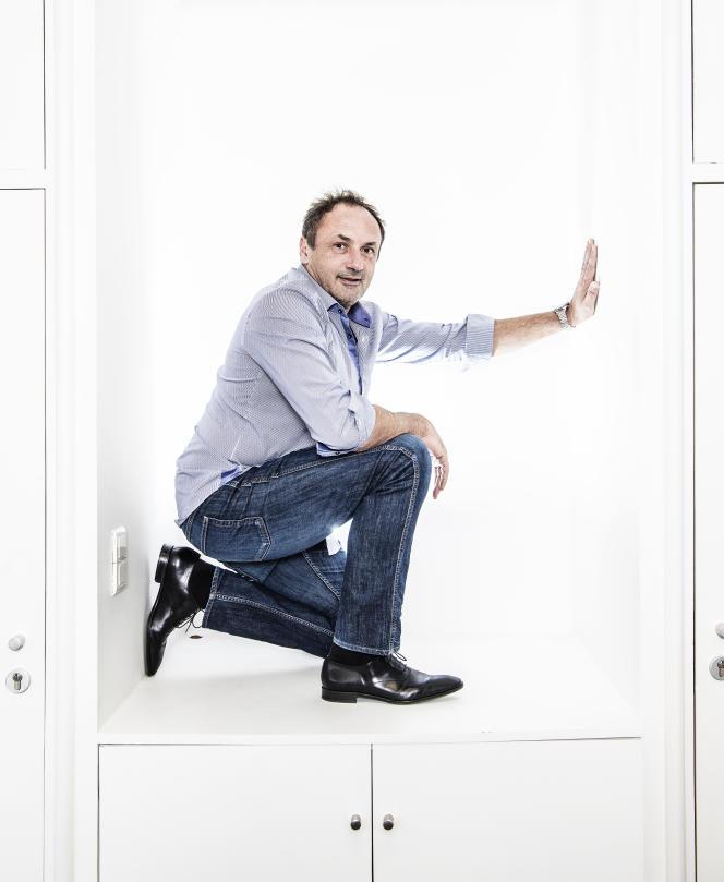 Ludovic Lemoan, fondateur et patron de Sigfox.