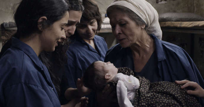 La réalisatrice palestinienne Mai Masri entend aussi rendre compte de l'expérience de la maternité en prison.