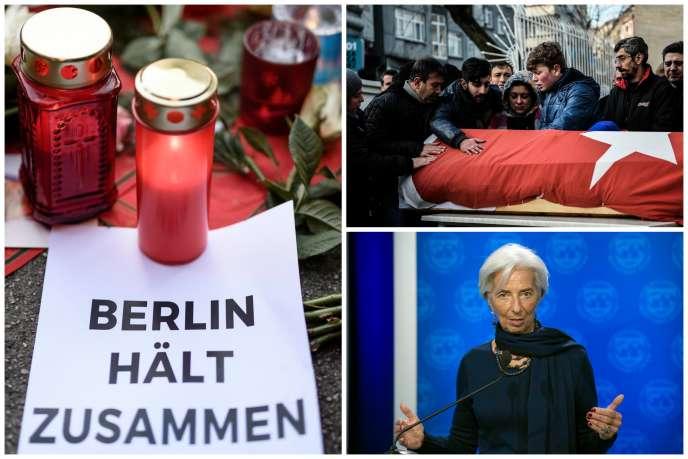 Attentats à Berlin et en Turquie, Christine Lagarde condamnée