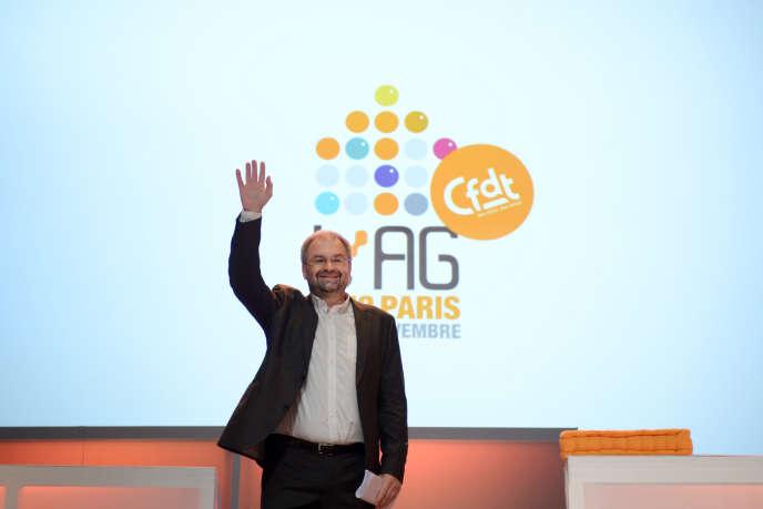 « La CFDT perd une grande figure, le syndicalisme français perd une grande figure qui a fait de la lutte syndicale un engagement personnel », a réagiLaurent Berger.
