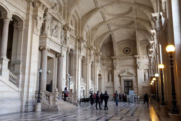 Le palais de justice de Paris, le 18 janvier 2013.