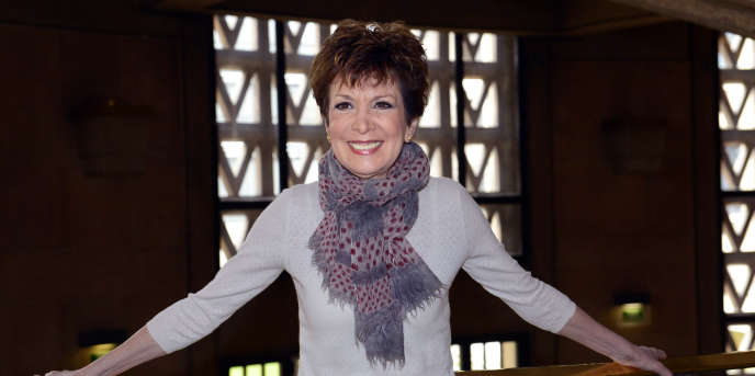 Catherine Laborde, le 21 mars 2013, lors du 10e Forum de la météo, à Paris.