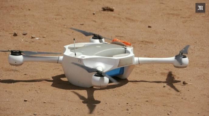 Un drone utilisé au Malawi pour le transport de tests de dépistage du VIH.
