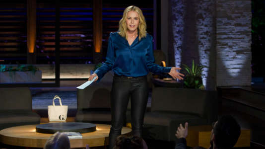 Los Angeles, California May 10 Chelsea Handler Talk Show in Los Angeles on May 10, 2016. Guests include Gwyneth Paltrow, Tony Hale and Chris Anderson (Photo by Adam Rose/Netflix)