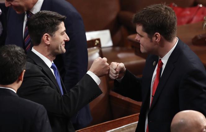 Paul Ryan, un ultra-libéral de 46 ans, a fait le plus gros de sa carrière au Congrès.
