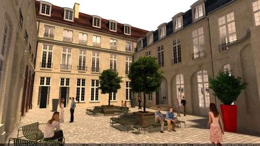 L'hôtel de Coulanges deviendra en 2019 en un lieu consacré à la mode et au design.