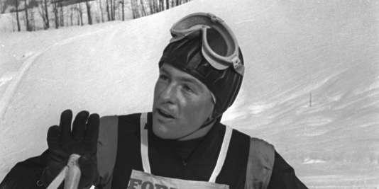 Jean Vuarnet, le 7février 1962.