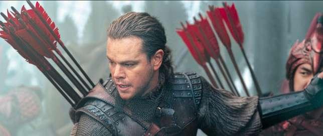 Matt Damon incarne un mercenaire anglais dans cette épopée à la gloire de la Chine.