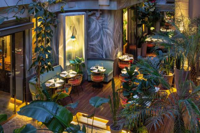 Le restaurant Klay Saint-Sauveur, à Paris, imaginé par l'agence Toro & Liautard.