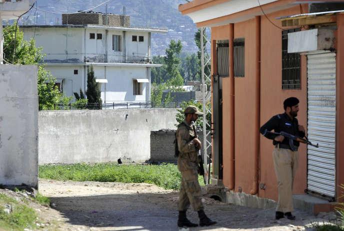 La maison d'Abbottabad, au Pakistan, où Oussama Ben Laden a été tué par les forces spéciales américaines, ici en mai 2011.