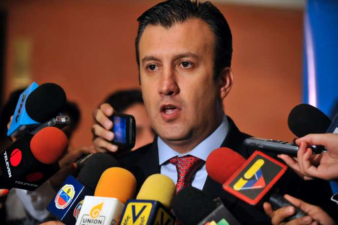 Tareck El Aissami, ici en novembre 2011, a été nommé par Nicolas Maduro, vice-président du Venezuela, le 4 janvier 2017.
