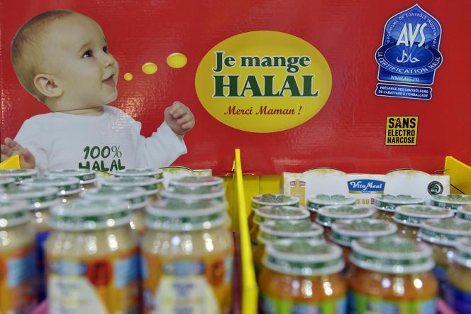 A un Salon consacré au halal, à Paris, en mars 2014.