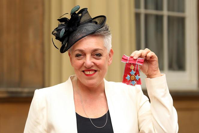 Ruth Mackenzie, décorée en juin 2013 Commandeur de l'ordre de l'Empire britannique après son travail sur les JO de Londres.