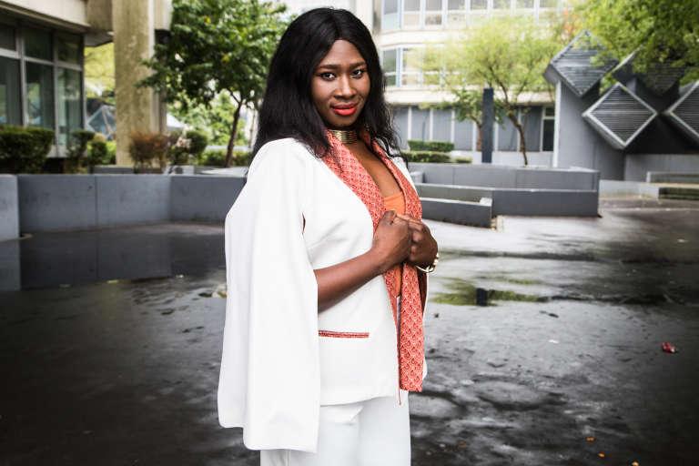 L'entrepreneuse Aïssata Diakité.