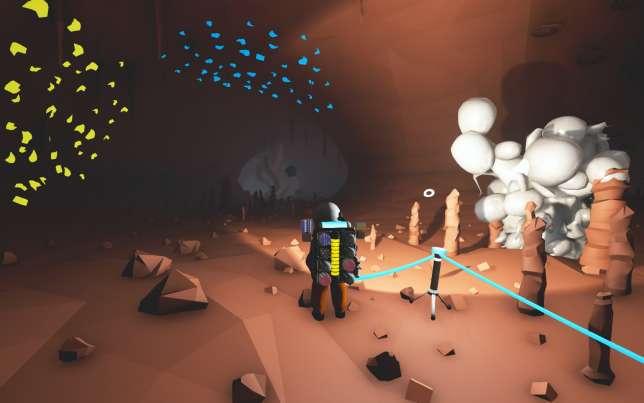 Menaçants et plein de secrets, les souterrains regorgent d'artefacts à analyser.