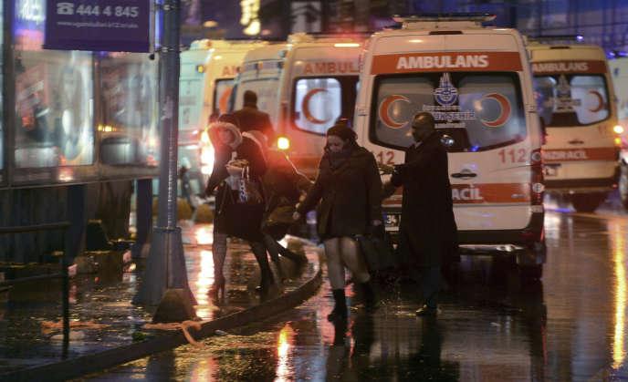 L'attentat contre la discothèque Reina d'Istanbulavait fait 39 morts.