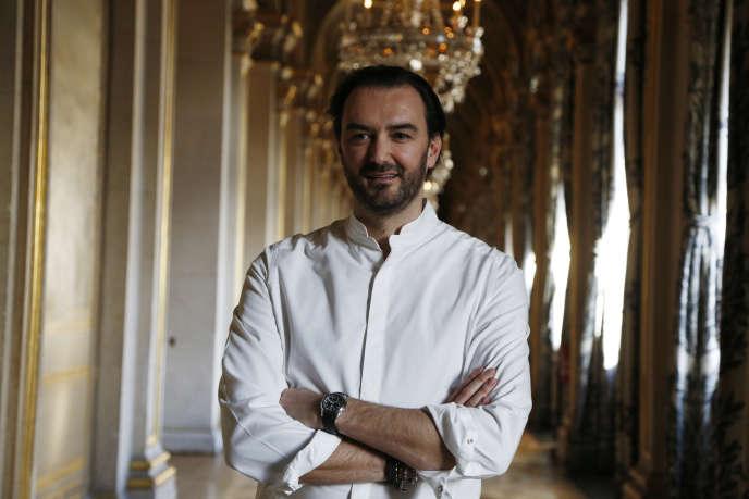 Cyril Lignac, à Paris, en janvier 2016.