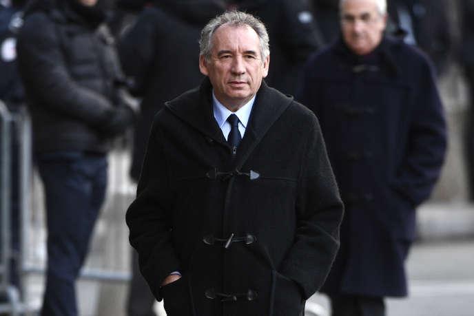 Francois Bayrou, le 5 janvier à Paris.