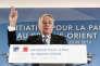 Le ministre français des affaires étrangères, Jean-Marc Ayrault, lors de la précédente conférence sur la paix au Proche-Orient, le 3 juin 2016 à Paris.