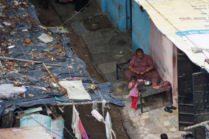 En Inde, malgré la croissance,les inégalités se creusent et le chômage augmente. Ici à Ahmedabad, principale ville de l'État du Gujarat, au nord-ouest de l'Inde.