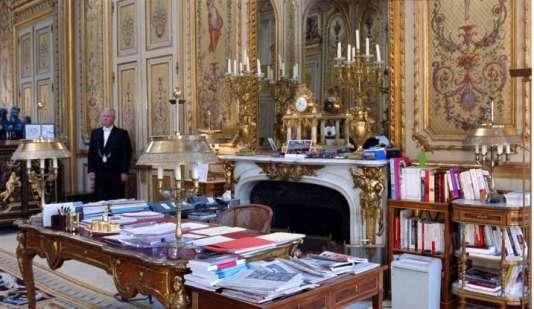 Extrait de« Elysée», film de Laurent Grasso.