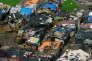 «Dans l'Etat de Gujarat, 497 femmes habitant des bidonvilles d'Ahmedabad ont participé à une loterie qui proposait à près du quart des inscrites un logement subventionné de meilleure qualité dans un quartier a priori plus favorisé... ». (Photo : bidonville d'Ahmedabad, dans l'Etat duGujarat, en Inde).