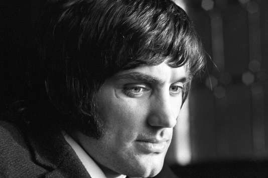 Le footballeur George Best, en 1969.
