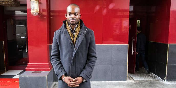L'entrepreneur malien Chérif Haïdara à Aubervilliers en 2017.