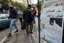 La «une» d'«As-Safir» affichée sur un kiosque, à Beyrouth, le 31 décembre 2016.