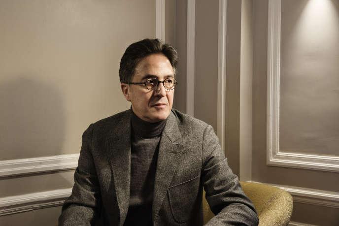 Aquilino Morelle, ancien conseiller politique au cabinet de François Hollande, à Paris.