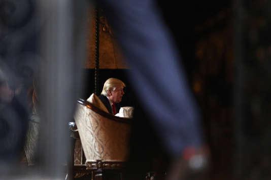 Donald Trump, à Palm Beach, en Floride, le 21 décembre 2016.