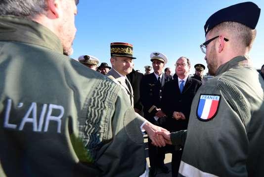 Francois Hollande, le 6 janvier, à Mont-de-Marsan.