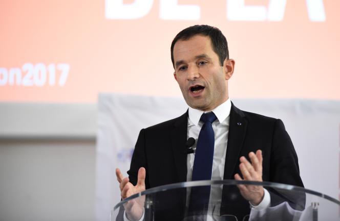 Benoît Hamon le 6 janvier 2017.