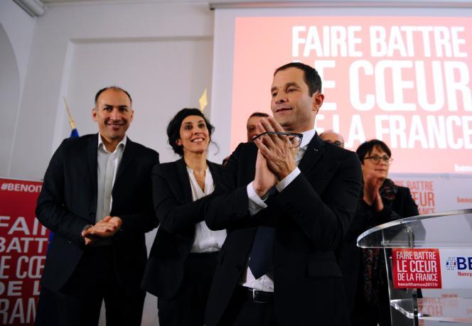 Benoît Hamon à Nancy le 6 janvier.