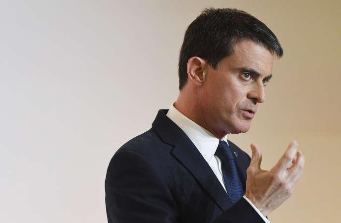 Manuel Valls, le 3 janvier 2017.